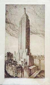 """ empire State building "" $800.00"