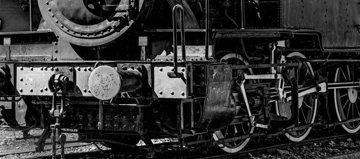 Train wheel - Marin Gelussi