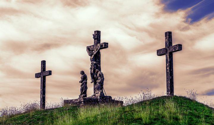 Jesus on the cross - Marin Gelussi