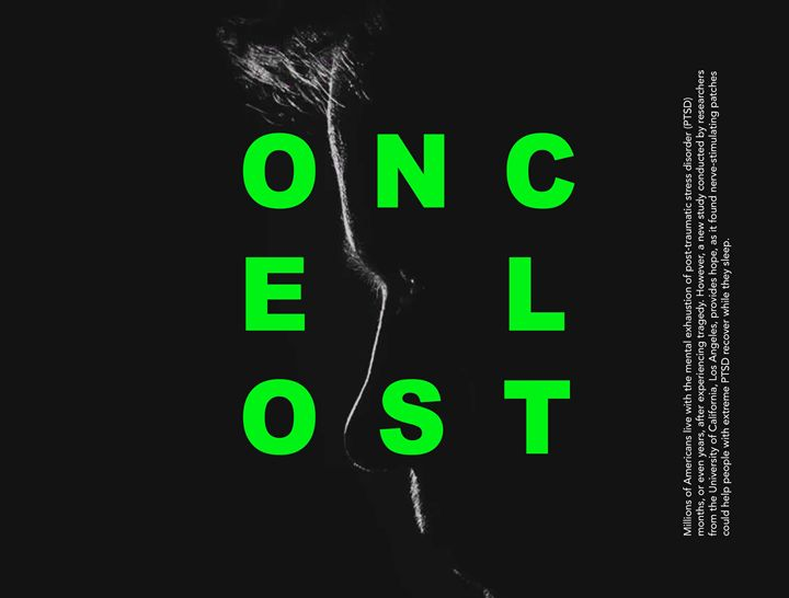 OnceLost Green - Lasse Bergmann Grafik