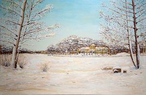 Winter in Kuzminki