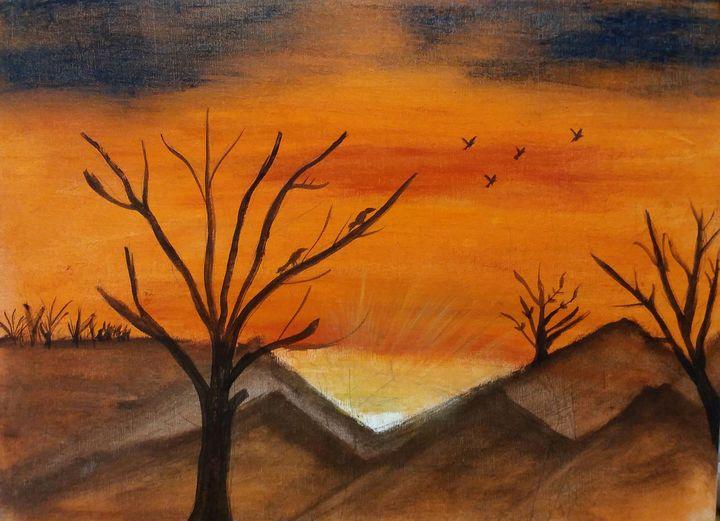 Warm evening - Soyiart