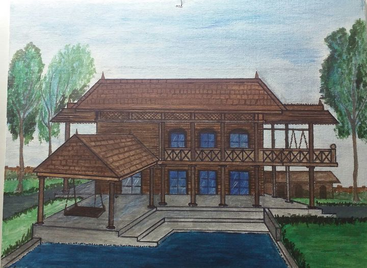 Traditional home - Soyiart
