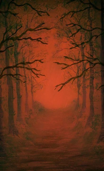 Forest of Fire - jamesartmuse
