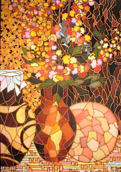 """Still life of wildflowers"" - Ukrainian Art Gallery"
