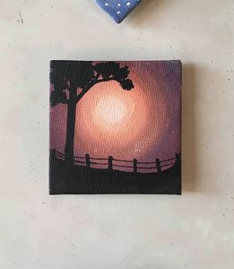 Fence Silhouette Magnet