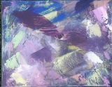 Dark and Colorful Abstract Painting