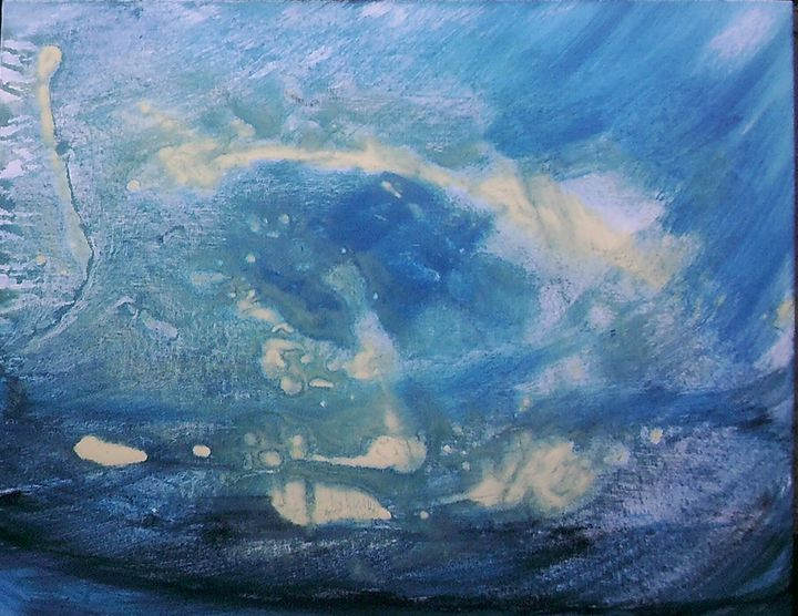 Turquoise - Jen Ex Art