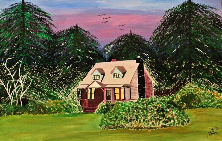 Pink House - The Garden of Art