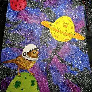 """Space Bird"""