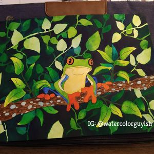 """Simple Tree Frog"""