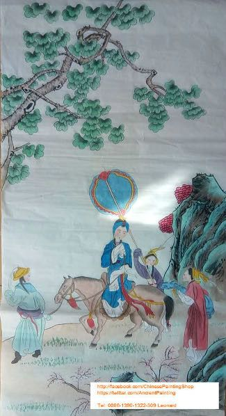 Original Chinese Painting 001 - Chinese Paintings