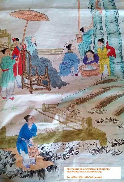 Original Chinese Painting 002 - Chinese Paintings