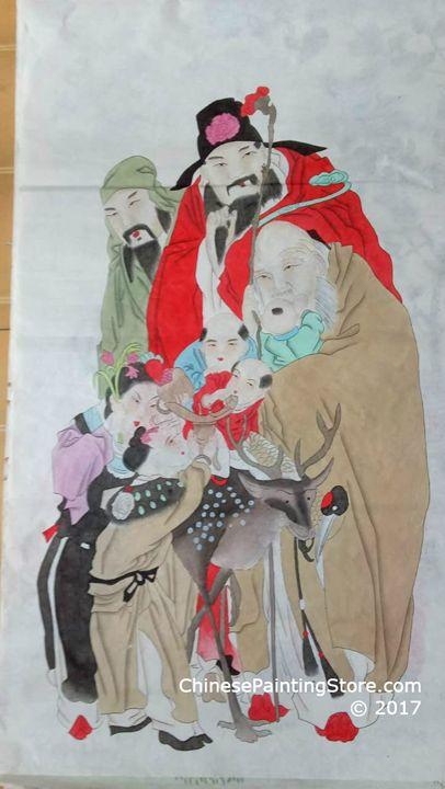 Original Chinese Painting 023 - Chinese Paintings