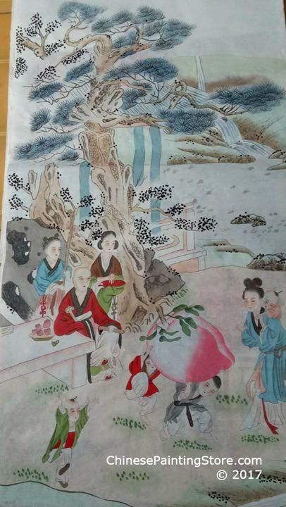 Original Chinese Painting 025 - Chinese Paintings