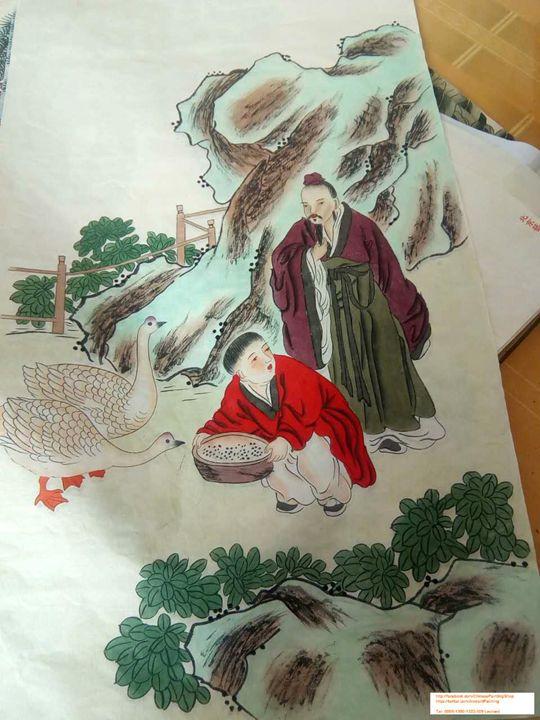 Original Chinese Painting 005 - Chinese Paintings