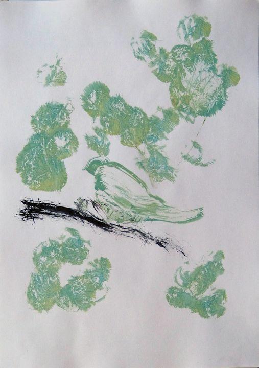 Birds of the park Monceau - Frederic Belaubre