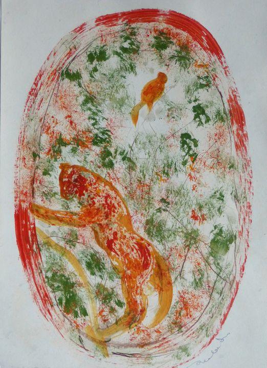 Cat and Bird 20-4 - Frederic Belaubre