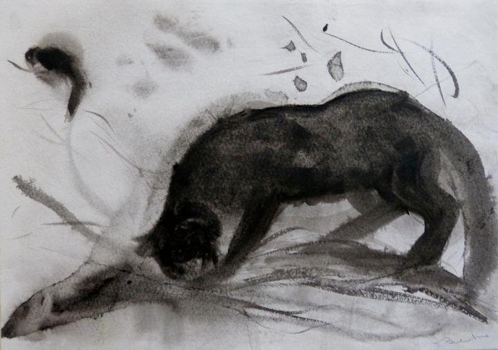 Cat and Bird 20-2 - Frederic Belaubre