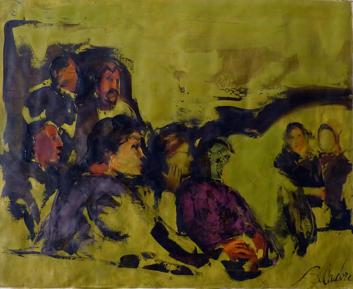 The spectators - Frederic Belaubre