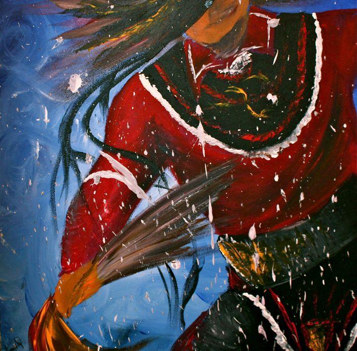 Spirit Dancers I - Megan Kanerahtenha:wi Whyte