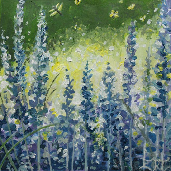 Fresh Lavender - ElizaArt