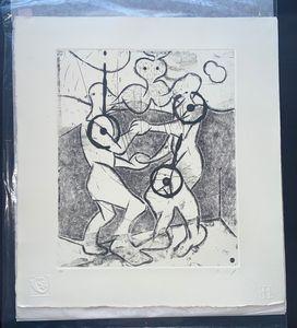 Rafael Perea Original Painting