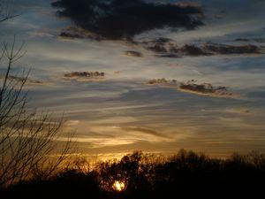 Sunset November 19, 2020