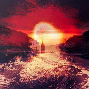The final  sunset