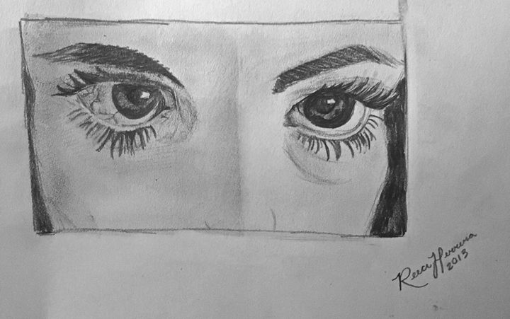 I'm lost in your eyes - Reeci Herrera