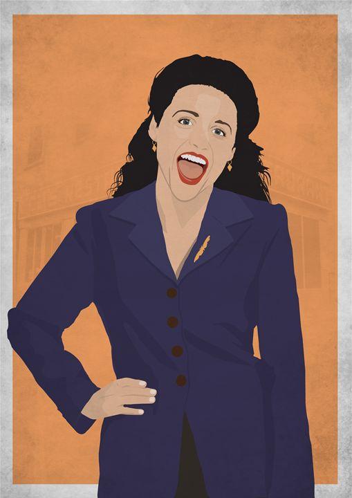 Elaine Benes // Seinfeld - Dick Smith Designs