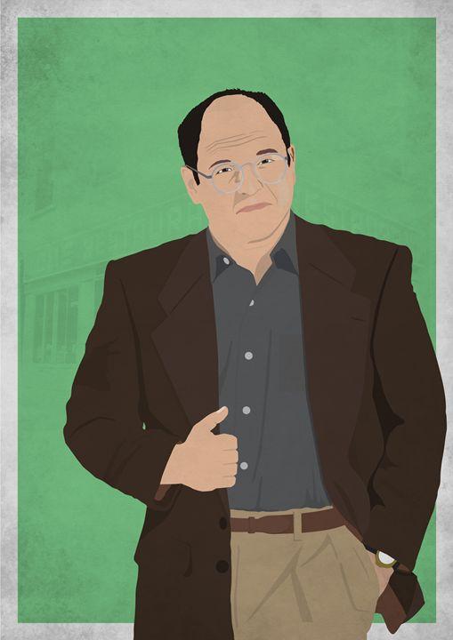 George Costanza // Seinfeld - Dick Smith Designs