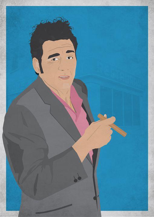 Cosmo Kramer // Seinfeld - Dick Smith Designs