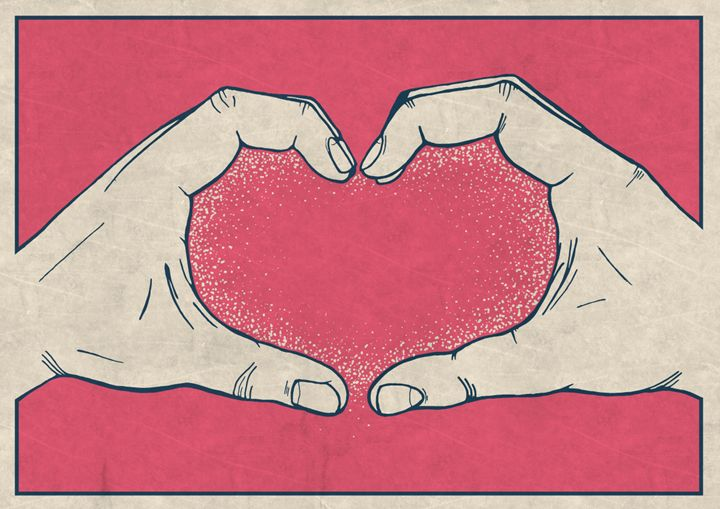 LOVE HANDS - Dick Smith Designs