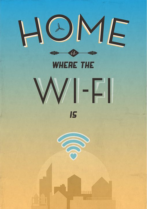Home Is Where The WiFi is - Dick Smith Designs
