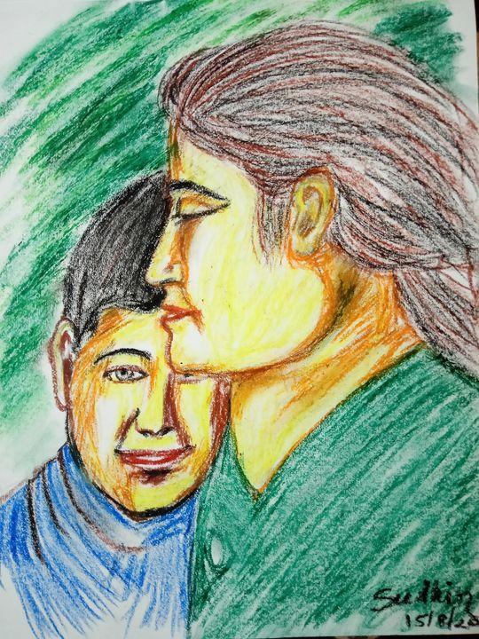 Mother's hug - Sudhir