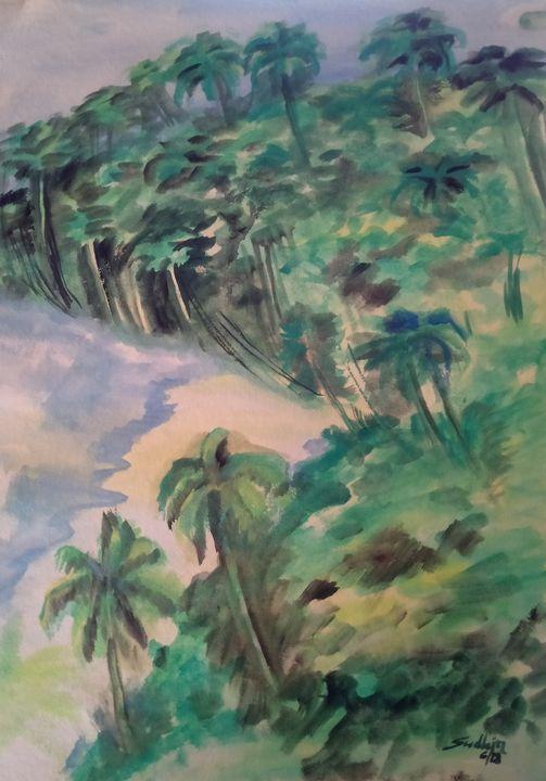 Beach trees - Sudhir
