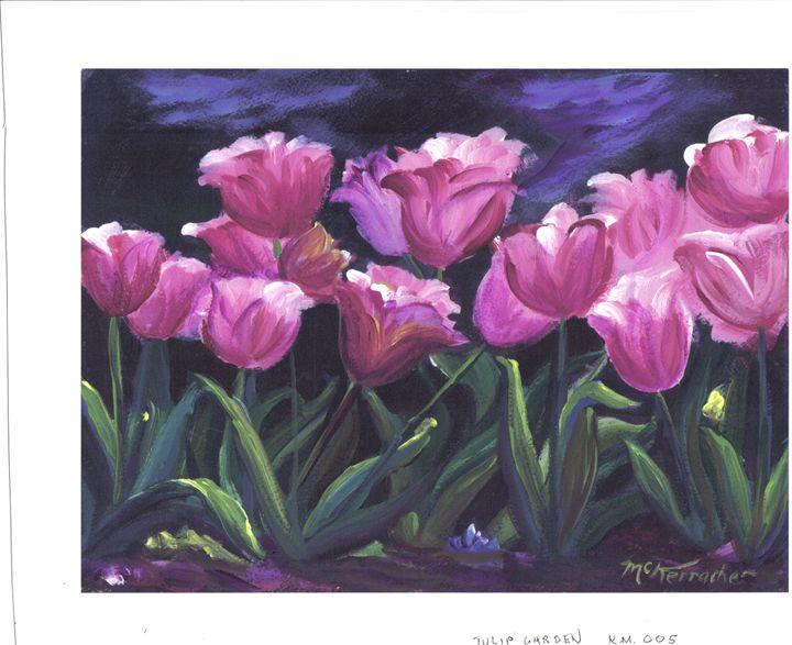 """Happy Tulips - Kim """"Kwaz"""" McKerracher"""