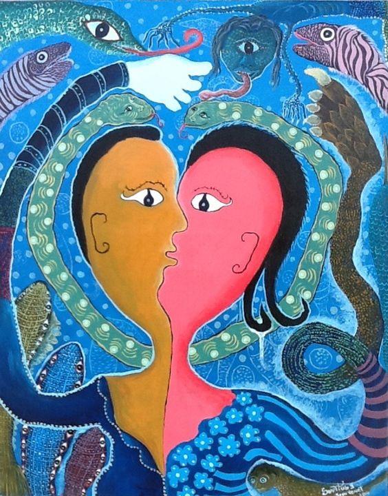 Two lovers - Jeanvenet Senatus