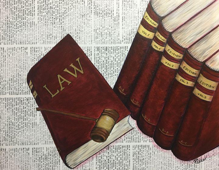 Law Books - Piera Design