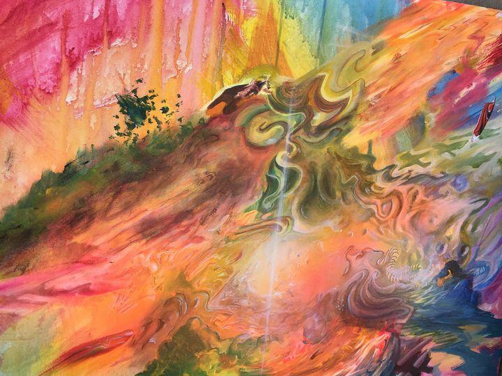 dreams of the fire shaman - Kyle Kigston Art