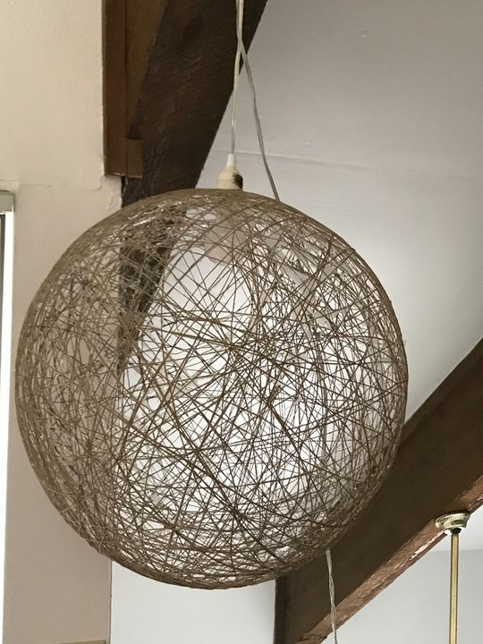 Modern Hemp Hanging Pendant Lamp - The Boheme Bungalow