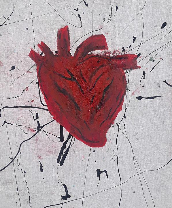 Bursting heart - The Gray Fox