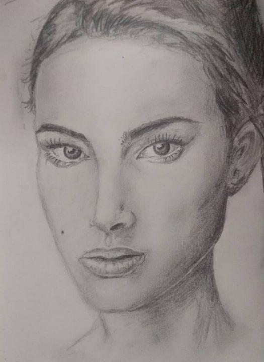 Pencil Portrait - Marina