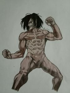 Eren in Titan form