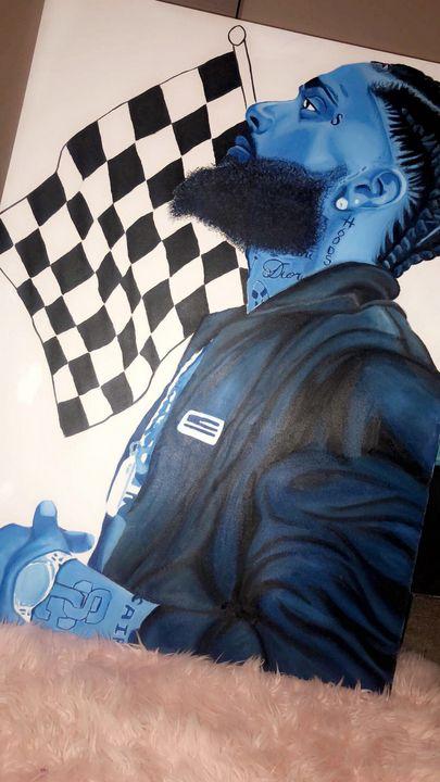 Hussle Man - Ki Art