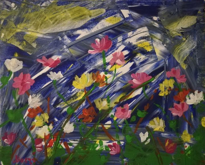 Summertime meadow - Olivera Starcevic