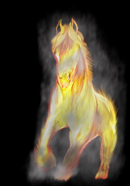Burning Glory - McCallum Art