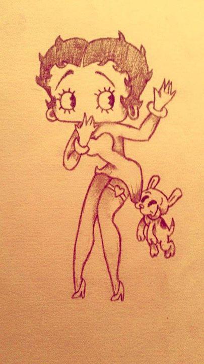Betty Boop - Guchereau