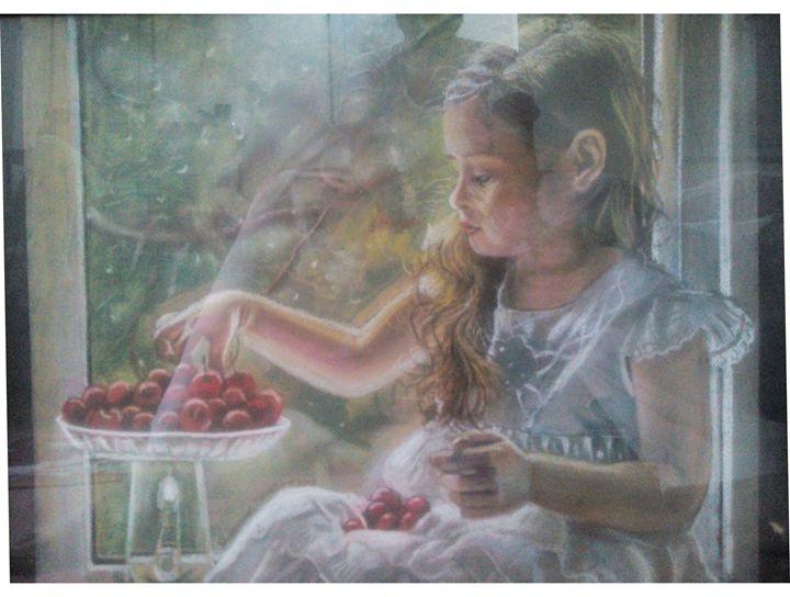 Cherries - Paintings